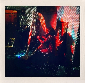 At Cafe Oto, photo by Alma No Fear